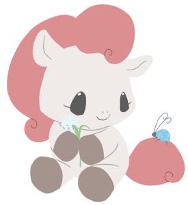 Baby Pony Hana Art by TeacupLion