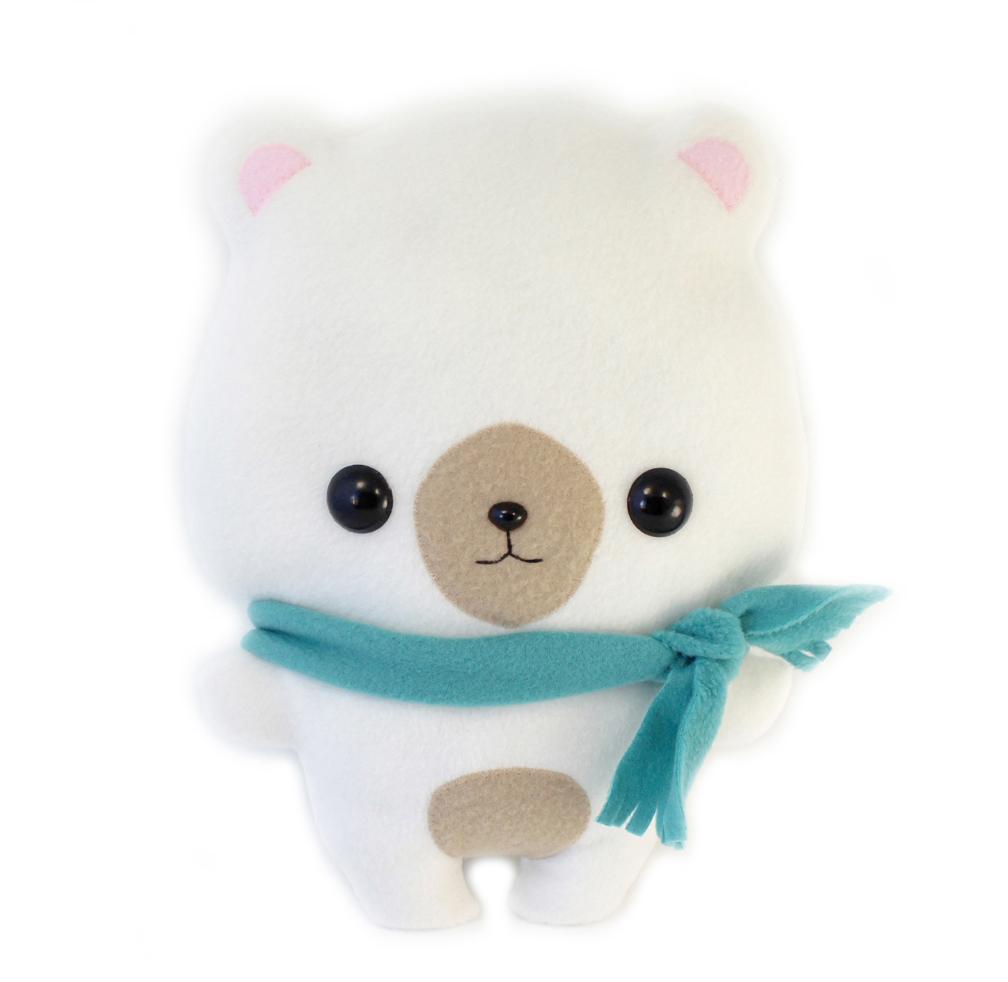 PDF Plush Cute Sewing Pattern Bear 1 by TeacupLion
