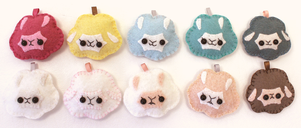 Alpaca Cream Puff Plushies by TeacupLion