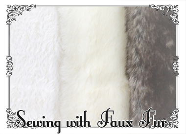 Sewing with faux fur