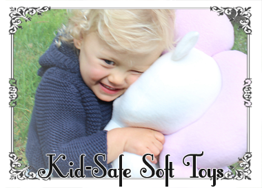 Kid-safe soft toys