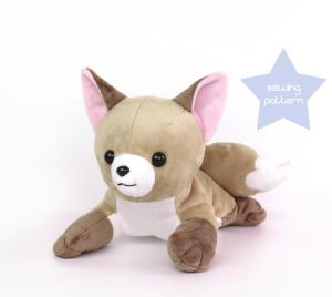 Newborn fox plush by teacuplion 1