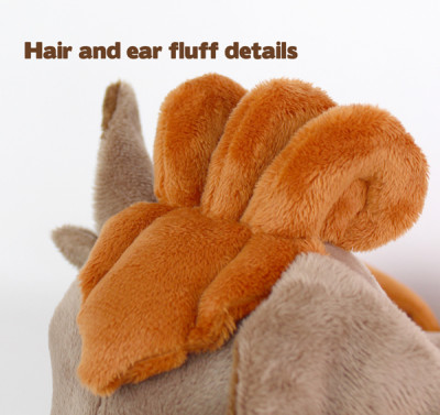 Free Plush Sewing Pattern Vulpix Tails Hair For Newborn Fox