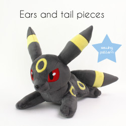 Umbreon sewing pattern by TeacupLion 2
