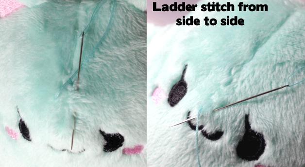 cat ladder stitch
