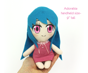 chibi anime girl by teacuplion 3