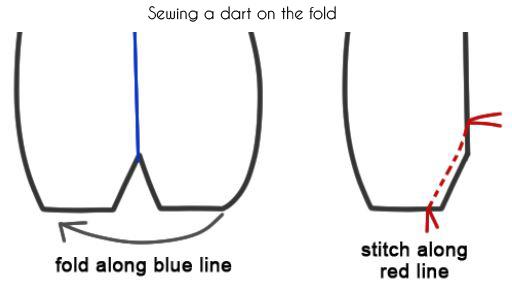 fold dart