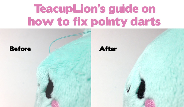 How to fix pointy darts