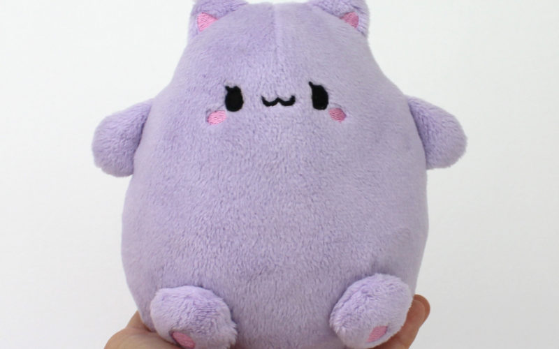 Kawaii Cat Puff (lavender)