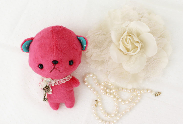 Free Anime Pocket Bear sewing pattern