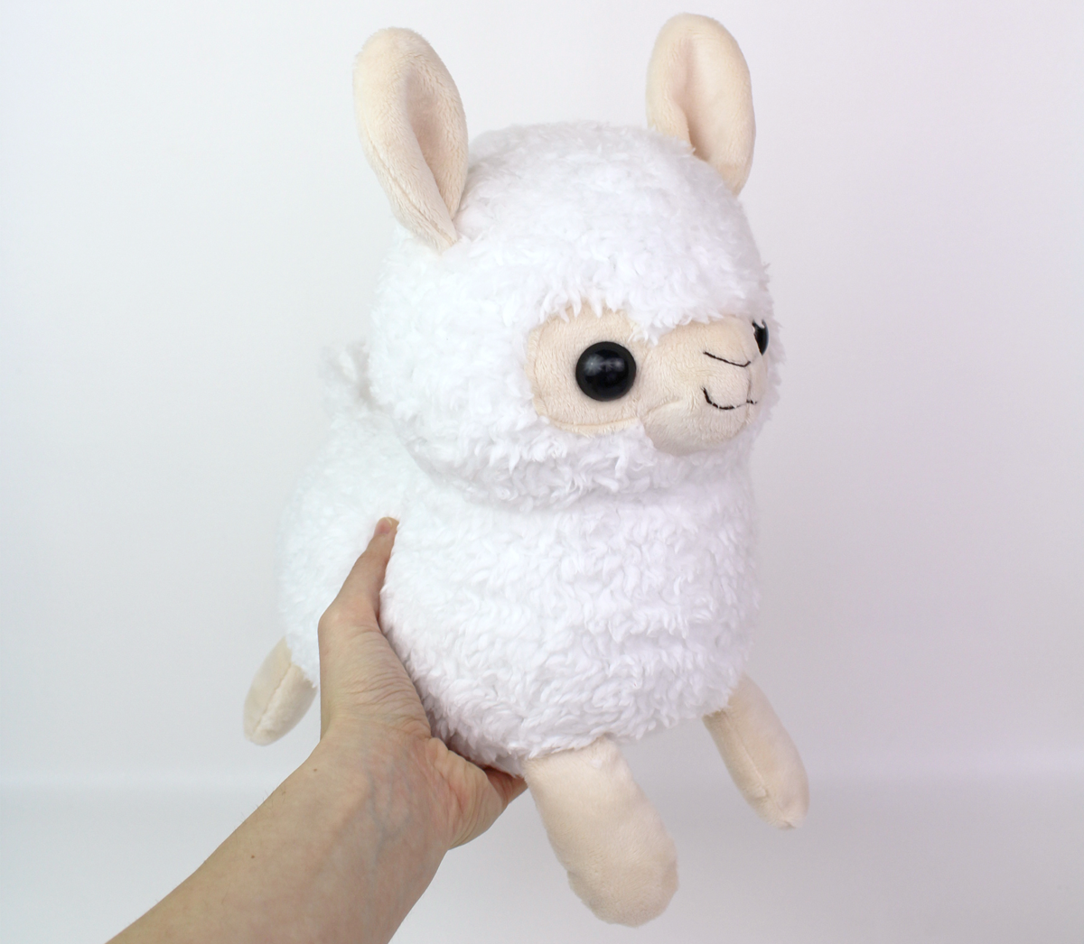 Sewing pattern alpaca llama stuffed animal 12 for Sewing templates for stuffed animals