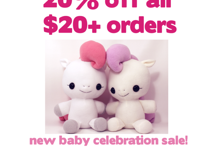 20% off sale through April 14!
