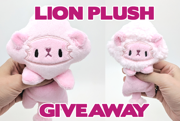 Free plushie giveaway ends in 5 hours!