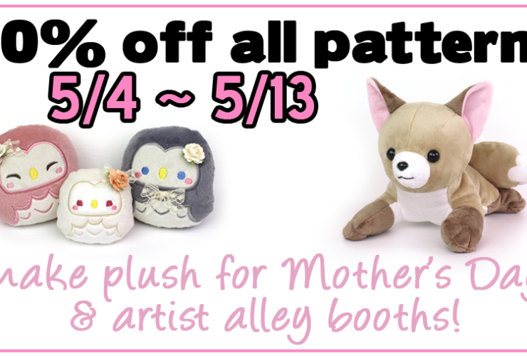 20% off sale through Mother's Day!