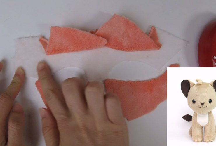 Videos: How to make plush – pinning curved concave and convex edges