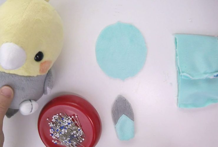 Video: How to sew flat-bottomed plush bodies with tails