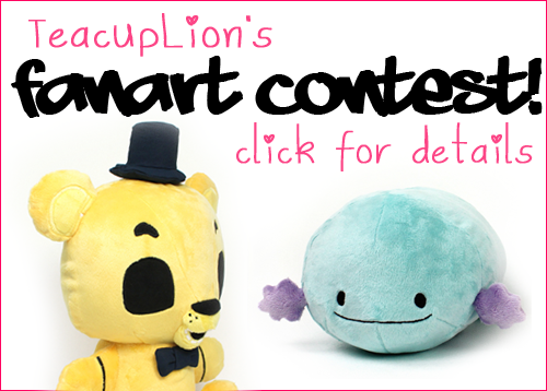 (5/31/17 ended) TeacupLion's Plush Fanart Sewing Contest