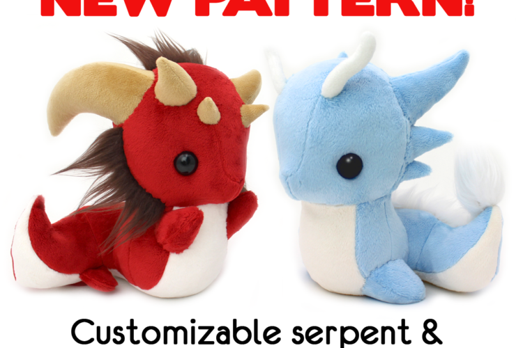New Dragon & Serpent pattern bundle~!